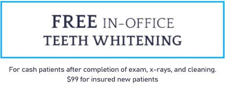 S & L Dental Teeth Whitening Special